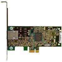 Dell placa de interface de rede Ethernet PCIe de 1 portas 10 Gigabit para placa de rede de servidor perfil baixo