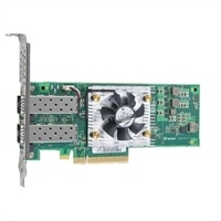 Adaptador de rede de baixo perfil Dell QLogic QL45212-DE, porta dupla, 25 GbE, SFP28