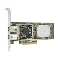 Adaptador de rede Dell QLogic QL45212-DE, porta dupla, 25 GbE, SFP28