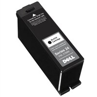 Dell Series 24 Single Use Black Cartridge - alta capacidade - preto - original - tinteiro