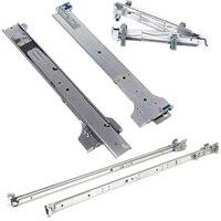 Calhas de rack estáticas de 2/4 pilares 1U - Kit