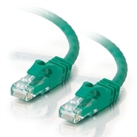 C2G Cat6 550MHz Snagless Patch Cable - Cabo patch - RJ-45 (M) - RJ-45 (M) - 5 m - ( CAT 6 ) - moldado, trançado, uniforme, forrado - verde