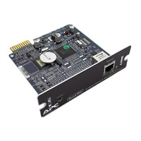 APC Network Management Card 2 - Adaptador de gestão remota - SmartSlot - Ethernet, Fast Ethernet - 10Base-T, 100Base-TX - preto