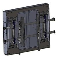 Chief Large FUSION LSD1U - Montagem na parede para painel plasma / LCD - preto