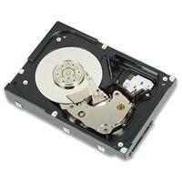Pevný disk SAS Hot-plug Dell s rychlostí 10,000 ot./min. – 300 GB HYB CARR