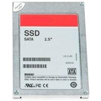 Dell 800 GB Pevný disk SSD Serial ATA Náročný Zápis 6Gb/s 2.5 palcový Jednotka v Jednotka Připojitelná Za Provozu, S3710, zákaznická sada