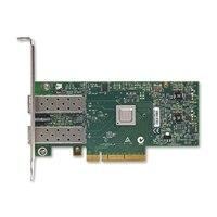 ethernetový sieťový adaptér Dell Mellanox Connect X3 10Gb SFP s dvomi portami - Low profile