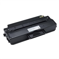 Čierna tonerová kazeta do laserových tlačiarní Dell B1260dn/ B1265dnf so štandardnou kapacitou tlače 1500 strán