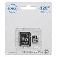 Dell 128 GB třídy 10 MicroSDXC karta s SD adaptér