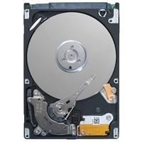"Dell - Hårddisk - 4 TB - inbyggd - 3.5"" - SAS 12Gb/s - NL - 7200 rpm - för PowerEdge R230, R320, R330, T110 II, T130, T330, T430; Precision Tower 7820"