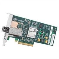 Dell Brocade BR815 FC8 Single Port Fibre Channel värdbussadapter PCIe 8GBps