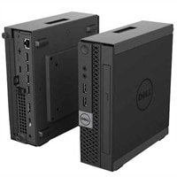Dell OptiPlex Micro Console Enclosure - Mikro PC-hölje - med DVD-RW-drivenhet