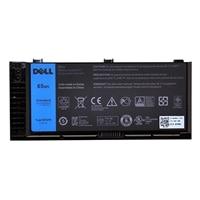 Dell 6-cells 65 W/hr primär Batteri för Dell Precision M4800 bärbara dator