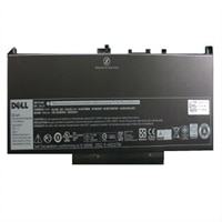 Dell 4-cells primärt litiumjonbatteri med 55 wattimmar
