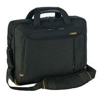 Toppmatad Meridian II-väska för bärbara datorer – passar bärbara datorer med skärmstorlekar på upp till 39,62 cm (15,6'') – Svart