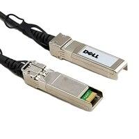 Dell nätverks kabel QSFP28 - QSFP28 100GbE Active optisk (Optics included) kabel 7 m - kundpaket