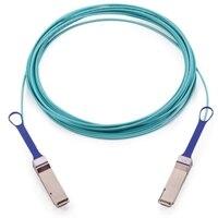 Dell nätverks Mellanox EDR VPI EDR InfiniBand QSFP monterade optisk kabel LSZH - 5m