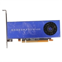 Radeon Pro WX 4100, 4GB, 4 DP, fullhöjd (Paket)