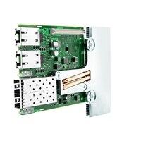 QLogic 57800 2x10Gb DA/SFP+ + 2x1Gb BT nätverksdotterkort,CusKit