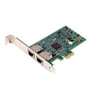 Dell Broadcom 5720 Dubbel portar 1 Gigabit nätverkskort - låg profil, Cuskit