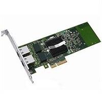 Dell med Dubbel portar 1 Gigabit Server Adapter Intel Ethernet I350 PCIe-nätverkskort fullhöjd, Cuskit