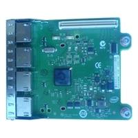 Dell fyra portar 1 Gigabit Intel Ethernet I350 PCIe-nätverksdotterkort, Cuskit
