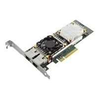 Dell QLogic 57810 Dual Port 10 Gb Base-T Network Adapter med låg Profil