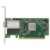 Mellanox ConnectX-4  1 portar, EDR, VPI QSFP28 låg profil Adapter, installeras av kunden