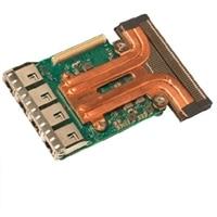 Intel X550 fyra portar 10GbE, Base-T, rNDC, installeras av kunden