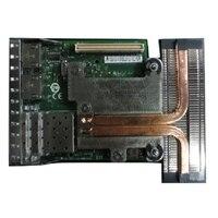 Intel X520 med Dubbel portar 10 Gigabit direktanslutnings/SFP+, + I350 med Dubbel portar 1 Gigabit Ethernet, nätverksdotterkort kundpaket - DSS Restricted