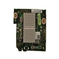 Dell Dubbel portar 10 Gigabit QLogic 57810-k KR CNA Blade -nätverksdotterkort, installeras av kundenl