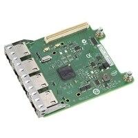 Dell med fyra portar Broadcom 5720 1Gb KR Blade Nätverksadapter