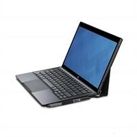 Dell Slim - Tangentbord och foliefodral - Pan Nordic QWERTY - grå, svart - för Latitude 7275; XPS 12 (9250), 9250