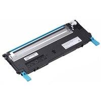 Dell - 1235cn - Cyan - tonerkassett med standardkapacitet - 1 000 sidors