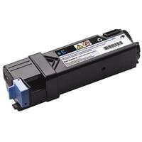 Dell - 2150cn/cdn/2155cn/cdn - Cyan - tonerkassett med högupplösta kapacitet  - 2 500 sidors