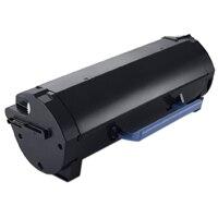 Dell B2360d&dn/B3460dn/B3465dnf - Svart tonerkassett med hög kapacitet -Använd och återlämna