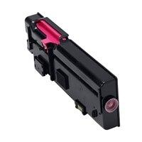 Dell 1,200 sidors Magenta tonerkassett med för Dell C2660dn/C2665dnf färgskrivare