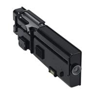 Dell 1,200 sidors Svart tonerkassett med för Dell C2660dn/C2665dnf färgskrivare