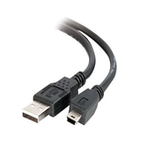 C2G - USB-kabel - 4 pin USB typ A (hane) - mini-USB typ B (hane) - 2 m (6.56 ft) ( USB / Hi-Speed USB )