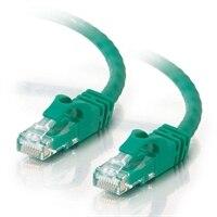 C2G Cat6 550MHz Snagless Patch Cable - Patch-kabel - RJ-45 (hane) - RJ-45 (hane) - 5 m (16.4 ft) - CAT 6 - formpressad, mångtrådig, hakfri, startad - grön