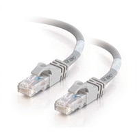 C2G Cat6 550MHz Snagless Patch Cable - Patch-kabel - RJ-45 (hane) - RJ-45 (hane) - 50 cm (19.69'') - CAT 6 - formpressad, mångtrådig, hakfri - grå