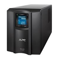 APC Smart-UPS C 1500VA LCD - UPS - AC 230 V - 980-watt - 1500 VA - RS-232, USB - utgångskontakter: 10 - svart