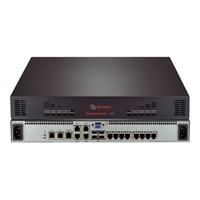 8-port Avocent MergePoint Unity 108EDAC - omkopplare för tangentbord/video/mus - 8 portar - Administrerad - skrivbord...
