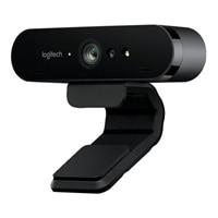 Logitech BRIO 4K Ultra HD webcam - - webbkamera - färg - 4096 x 2160 - ljud - USB