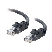 C2G Cat6 550MHz Snagless Patch Cable - Patch-kabel - RJ-45 (hane) - RJ-45 (hane) - 10 m (32.81 ft) - CAT 6 - formpressad, mångtrådig, hakfri - svart