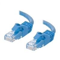 C2G Cat6 550MHz Snagless Patch Cable - Patch-kabel - RJ-45 (hane) - RJ-45 (hane) - 5 m (16.4 ft) - CAT 6 - formpressad, mångtrådig, hakfri, startad - blå