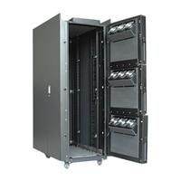 APC NetShelter CX - Rack - ljus ek - 38U - 19-tum