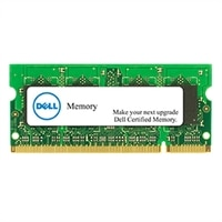 2 GB 認證更換記憶體模組 (適用於特定 Dell 系統)– DDR3L SODIMM 1600 MHz NON-ECC