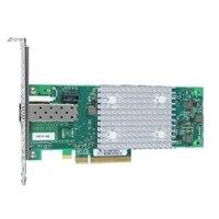 Dell QLogic 2740低矮型1連接埠 32Gb 光纖通道主機匯流排配接卡