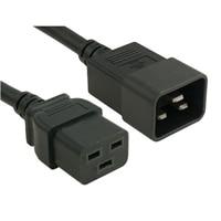 電源線, C20 to C19, PDU Style,16A, 250伏特, 2ft (0.6m), Customer Kit